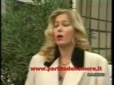 Moana Pozzi Nell'appello Finale Agli Elettori Del PdA. 1993