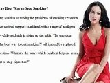 Want Better Sex? Quit Smoking