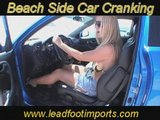 Female Cranking Car Pedal Pumping Foot Fetish