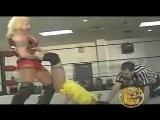 Vanessa Harding Vs Lady Victoria Womens Wrestling