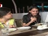 Ayesha Takia Enjoys Food At 'Koyla'