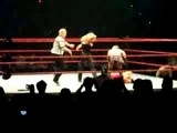 Torrie Wilson Getting Spanked By Trish Stratus