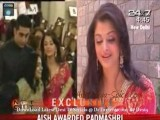 Aishwarya Rai Bachchan-Padma Shre-2010
