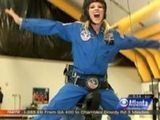 Corinna Gets High At Space Camp!
