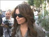 Eva Longoria Leaves The Ken Paves Hair