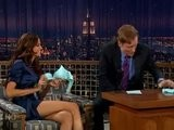 Izabel Goulart On Conan OBrien 3-1-07
