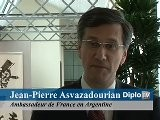 Jean-Pierre Asvazadourian, Argentine