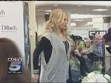 Jessica Simpson Appears At OP Store