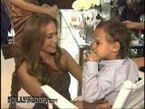 Jennifer Lopez & Twins Celebrate Gucci