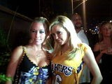 Kendra Wilkinson And Bridget Marquardt
