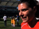 Mia Hamm Talks To Us About David Beckham