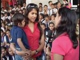 Sameera Watches 'Jumbo' With Kids