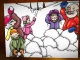 Snow Day By Pamela Greenhalgh Hamilton