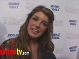 SHENAE GRIMES Interview At 500 DAYS OF