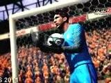 YouTube - PES 2011 Vs FIFA 11 Trailer