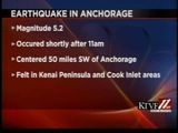 5.2 Earthquake Shakes Anchorage And Southern Alaska