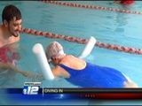 89-year-old Woman Hopes To Inspire Others And Learn To Swim