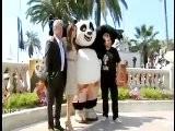 Angelina, Jack Black On Kung Fu Panda 2