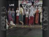 Dancing At The Asian Festival