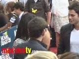 Jessica Szohr At 2011 MTV MOVIE AWARDS Red Carpet