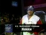 Konan Vs VK Wallstreet-WCW US Title