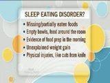 Sleep-related Eating Disorders