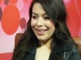 Celebrity Interviews - Miranda Cosgrove Helps Kids
