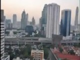 Bangkok Skyline Time Lapse Photography Sunset To Night Time - One Of Many Skylines - Thai Capital