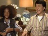 Access Hollywood - Jaden Smith & Jackie Chan Kick It In 'the Karate Kid'