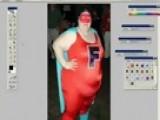 Transform A Fat Woman Into A Slim One Using Photoshop