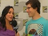 Access Hollywood - Andy Samberg Talks 'Cloudy With A Chance Of Meatballs'