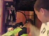 Bogus Prank To A Kid 1 2 Asleep!