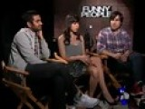 Aziz Ansari, Aubrey Plaza, And Jason Schwartzman With Matt Za
