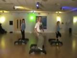 Step Aerobics Choreography - Block 2 Of 4