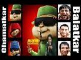3 Idiots Chatur Speech Chamatkar- Balatkar In Chipmunks Style