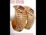 Exclusive Collection Of Designer Polki Bangles