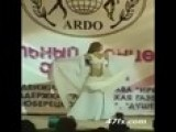 Charming Blonde Girl Doing Arabic Dance!