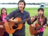 Antonio Banderas - Cancion Del Mariachi Cover By Castillo Kids Julie 9 Jessie 11 Joey 13 2009