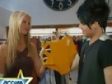 Access Hollywood - Nancy Goes Shopping With Adam Lambert