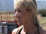 Attack Of The Show - Sara Underwood Gets Dirty