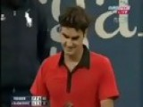 Roger Federer Best Point In Tennis History. US Open Semi Fin