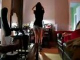 Gorgeous Girl Best Dance Infront Of Mirror