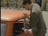 Mr Bean - Reliant Robin Crash, First Ever