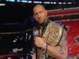 WWE Monday Night Raw - John Cena Calls Out WWE Champion Batista