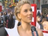 Live From The Red Carpet - Iron Man 2 Premiere: Scarlett Johansson