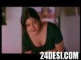 Mallu Tamil Aunty Boobs Cleavage To Guest