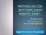 Supplements Actually Work At Protabolism.com Where Champions Buy Nutrition