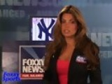 Foxxy Baseball: Monica And Her New York Yankees - What's Not To