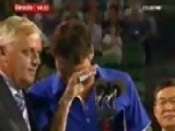 Tennis Star Roger Federer Crying - Australian Open 2009 Final