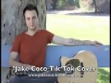 Me Playing TiK ToK By KE$HA Cover Jake Coco